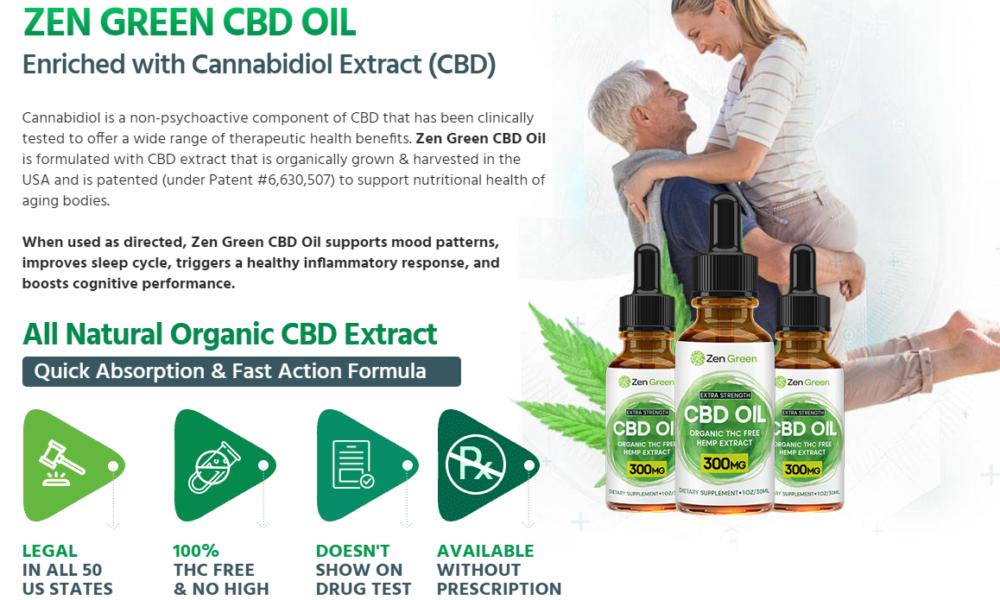Zen Green CBD Oil | Reviews Shark, Tank Benefits & Side Effects