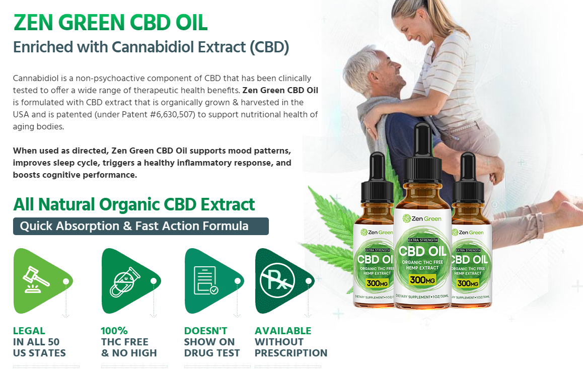 Zen Green CBD Oil | Reviews Shark, Tank Benefits & Side Effects