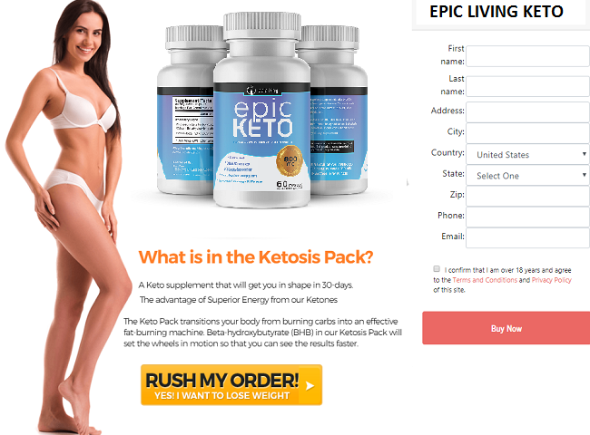 Epic Living Keto Weight Loss Pills Review || Fat Burn Epic Living Keto Pills