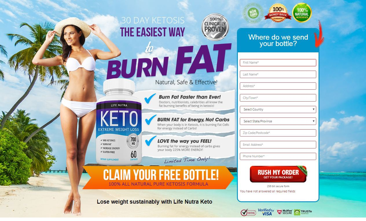 Nutra Life Keto Pills Turn Your Body Into a Fat Burning Machine Naturally