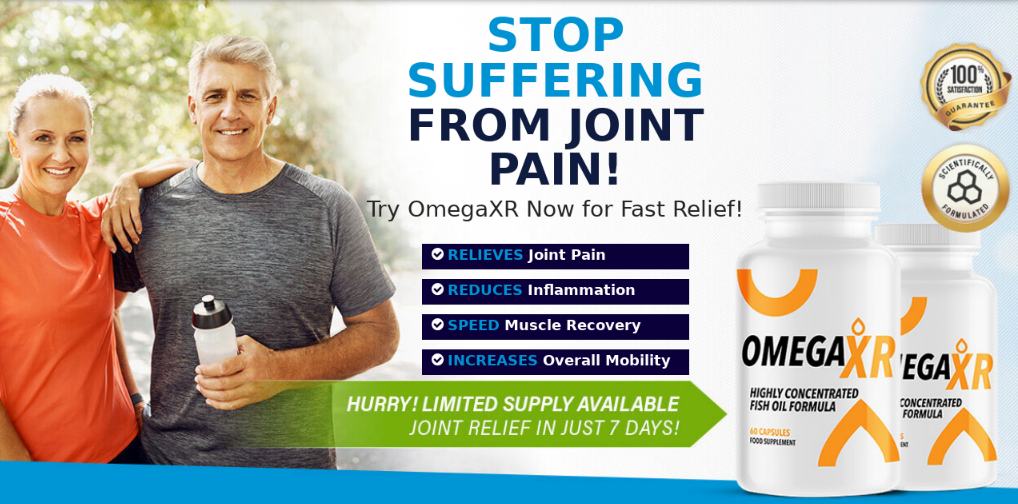 Omega Xr Joint Relief Pills || Most Effective For Joint Pain & Stiffness