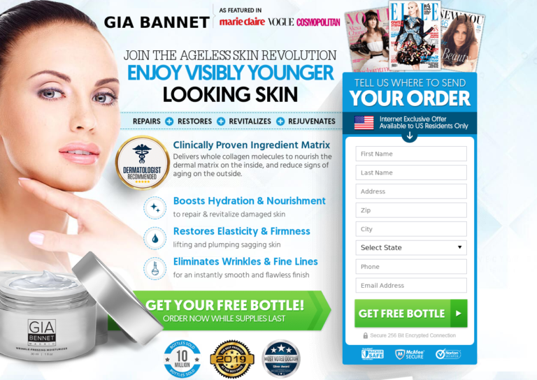 Gia Bennet Moisturizer Aging Skin care To Look Younger    Honest review