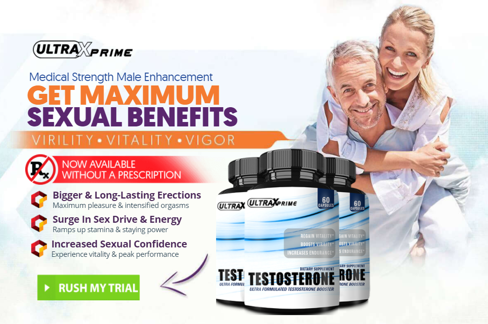 Ultra X Prime Testosterone Booster Pills || Ultra X Prime Official Review