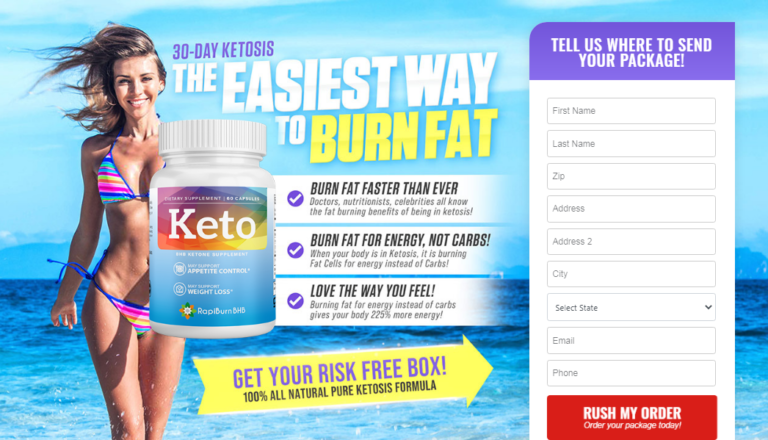 "Rapiburn BHB Keto® (Updated 2020) ""Weight Loss Official Pills Reviews"""