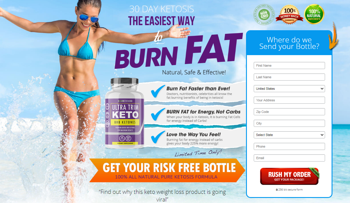 "Ultra Trim Keto BHB® {Modify 2020} ""100% Legit"" Does Its Really Works?"