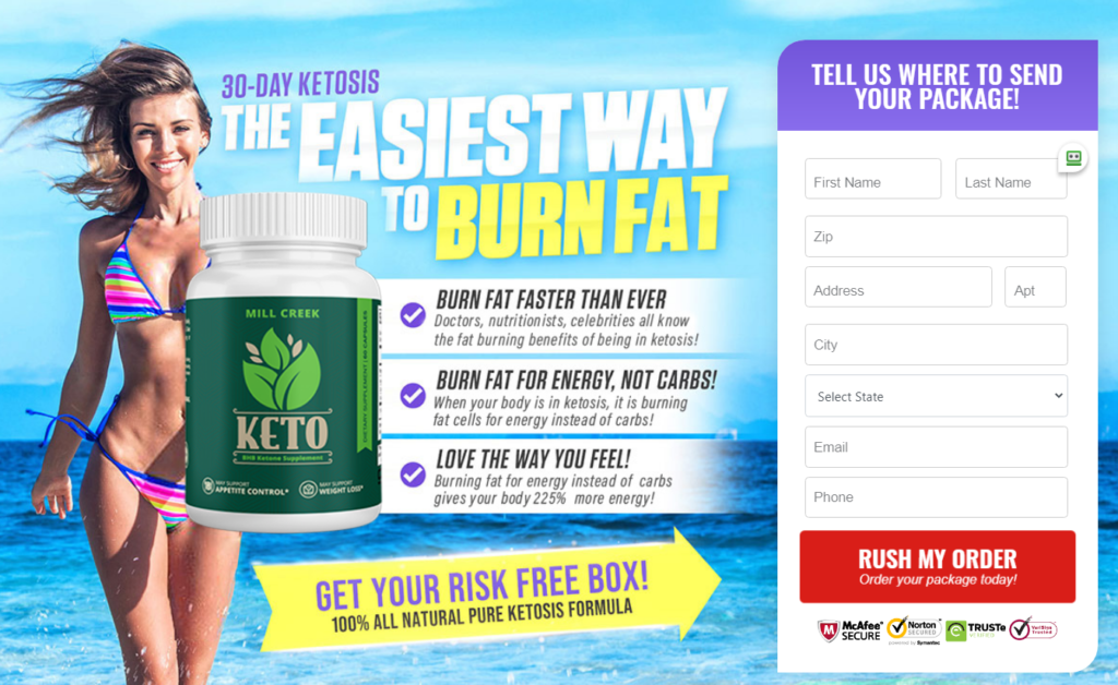 Mill Creek Keto® (UPDATE 20200 [Mill Creek Keto Weight Loss Reviews]