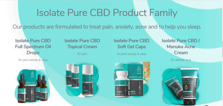 Pure Isolate #1 CBD Oil  Safe, Non-Addictive Effective & 100% Legit (2020)