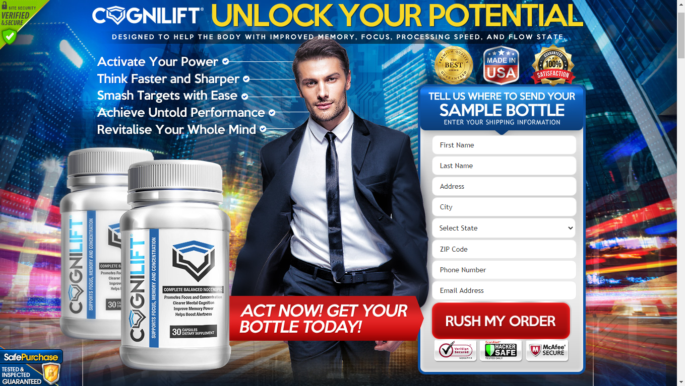Cognilift Brain Pills (UPDATE 2020) Price, Scam, Benefits, Reviews?