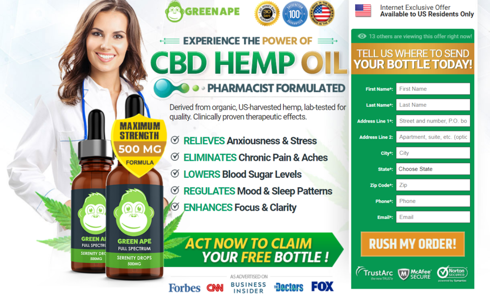 Green Ape CBD Oil® (7 Avoid Reason) Does This Green Ape CBD Work?