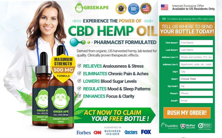 Green Ape CBD Oil® (7 Avoid Reason) Does This Green Ape CBD Work?