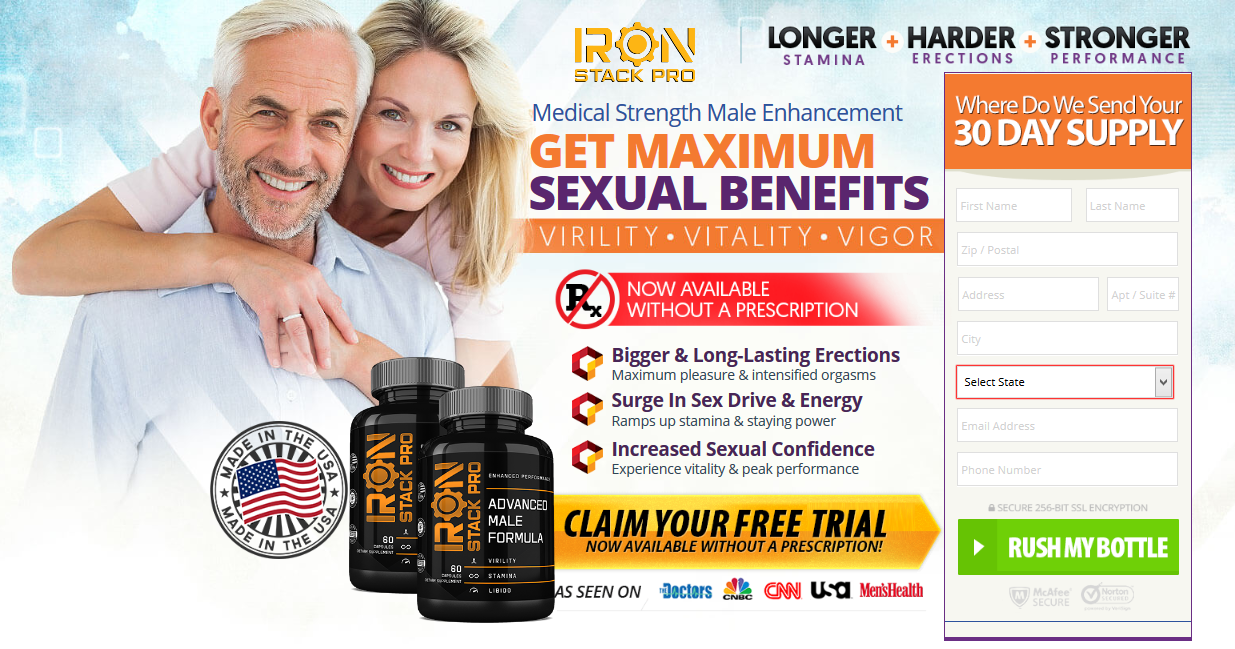 Iron Stack Pro Male Enhancement® [Iron Stack Pro Reviews] 100% Legit?