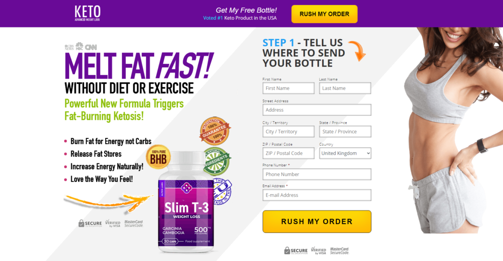 Keto Slim T-3 UK *ACTIVE 2020* Price, Reviews, Scam, Beneifts?