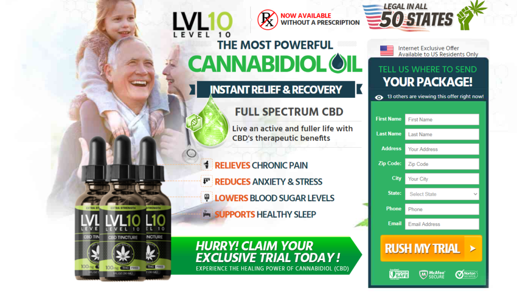Level 10 CBD Oil® [ACTIVE 2020] *100% Legit* 5 You Thing About Now!