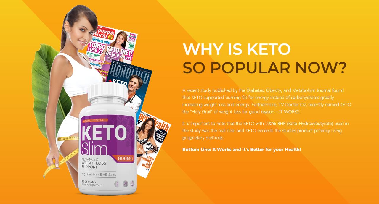 Pure Keto Slim 800 MG ® {ACTIVE 2020} Pure Keto Slim Really Works?