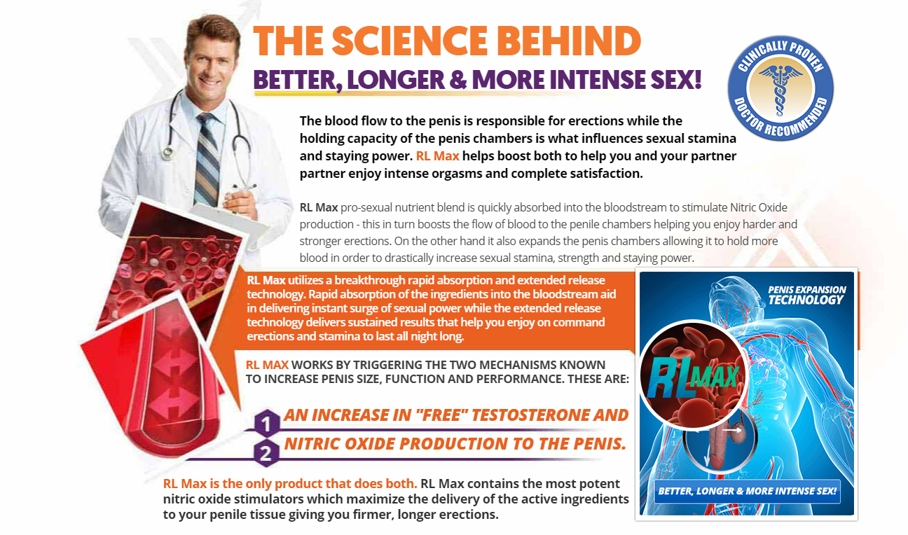 RL Max Male Enhancement Reviews ® - Price, Reviews, Benefits, Scam?