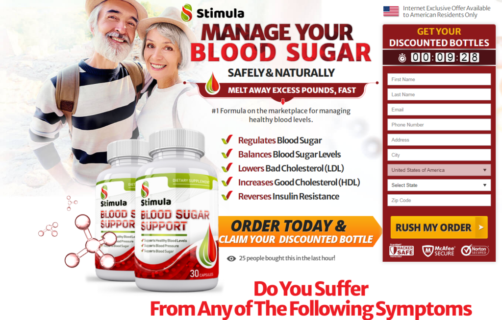 Stimula Blood Sugar Support® [UPDATE 2020] Get Your Exclusive Bottle!