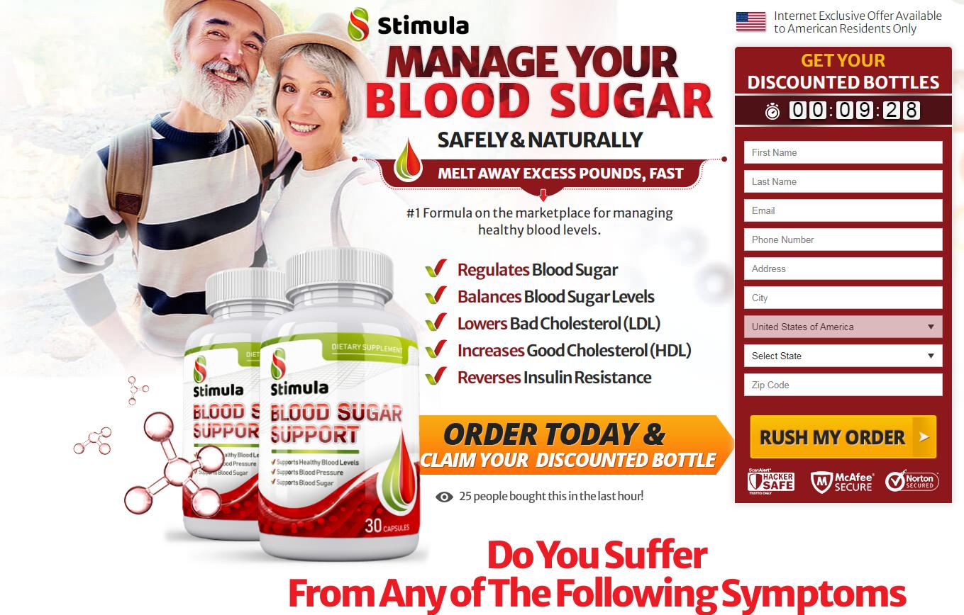 Stimula Blood Sugar Support® [UPDATE 2020] Get Your Exclusive Bottle!