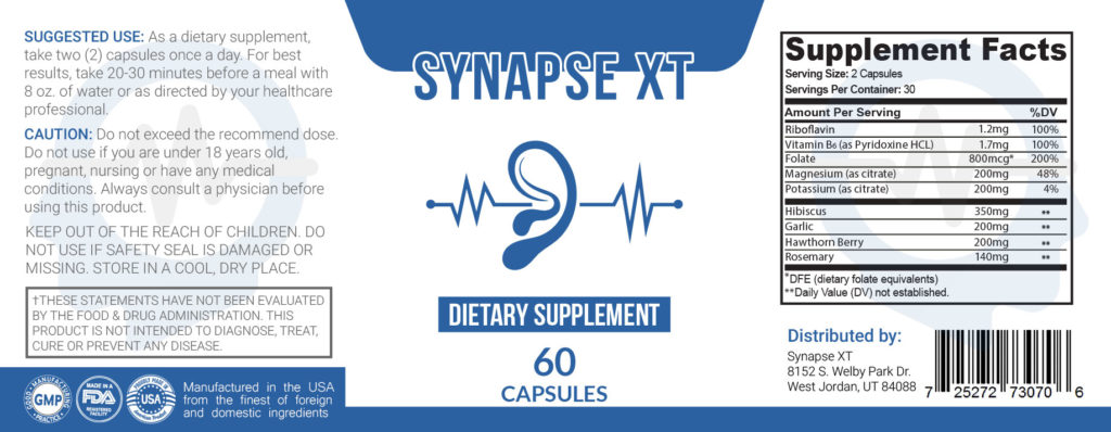 Synapse XT (UPDATE 2020) Ingredients, Pros and Cons, Price, Reviews?