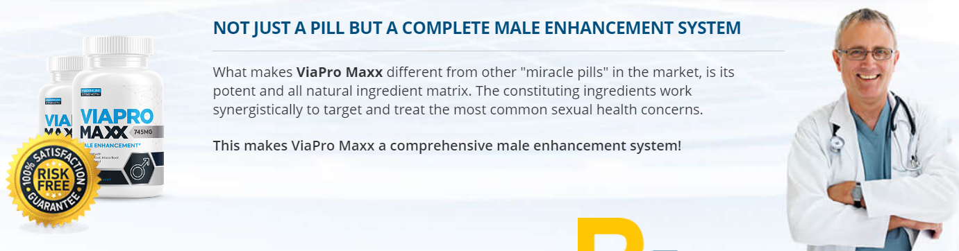 ViaPro Maxx Male Enhancement [ViaPro Maxx 100% Legit] Try Now!