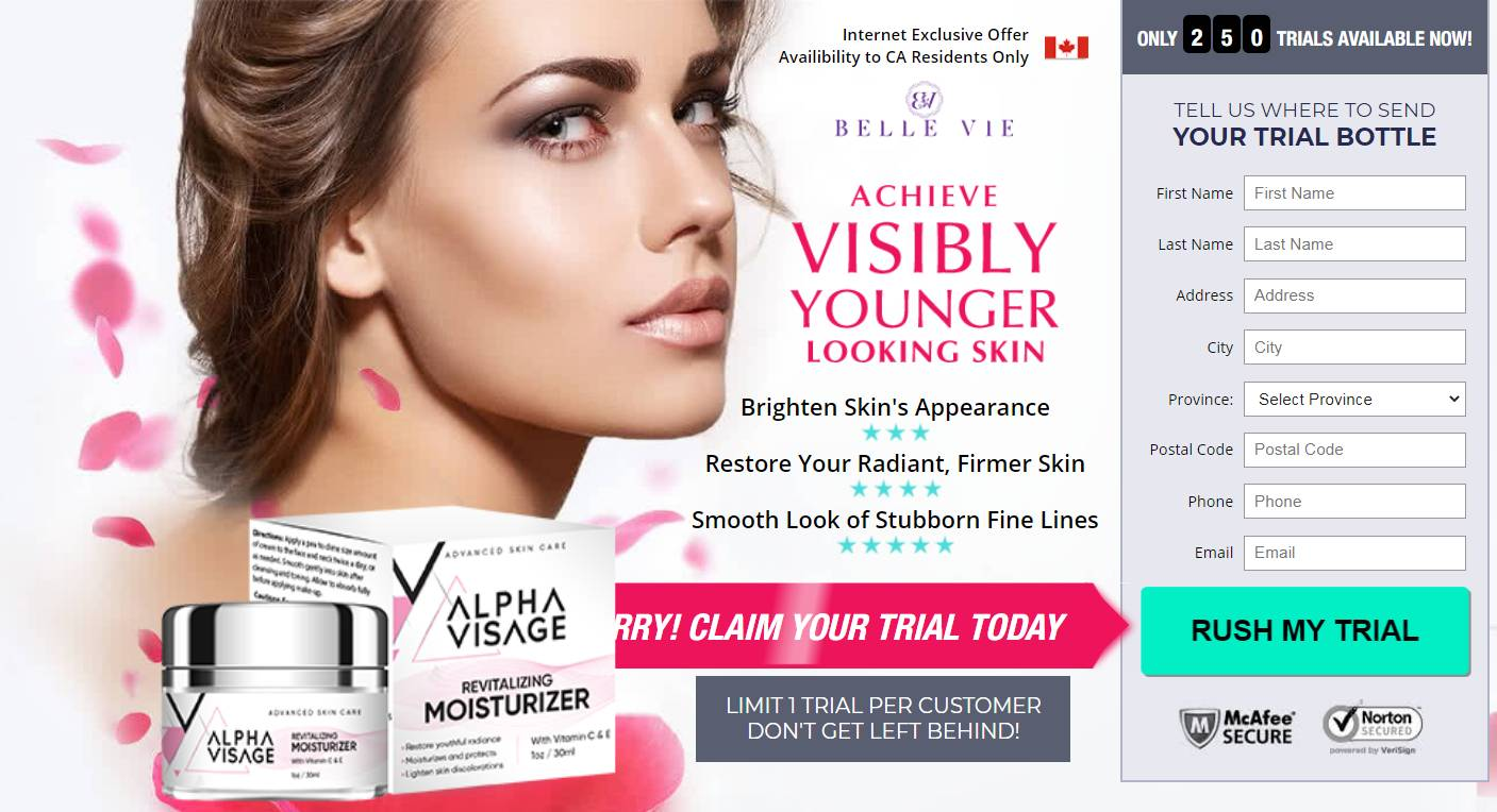 Visage Cream® *New 2020*  {Visage Cream Canada} Alpha Visage Cream