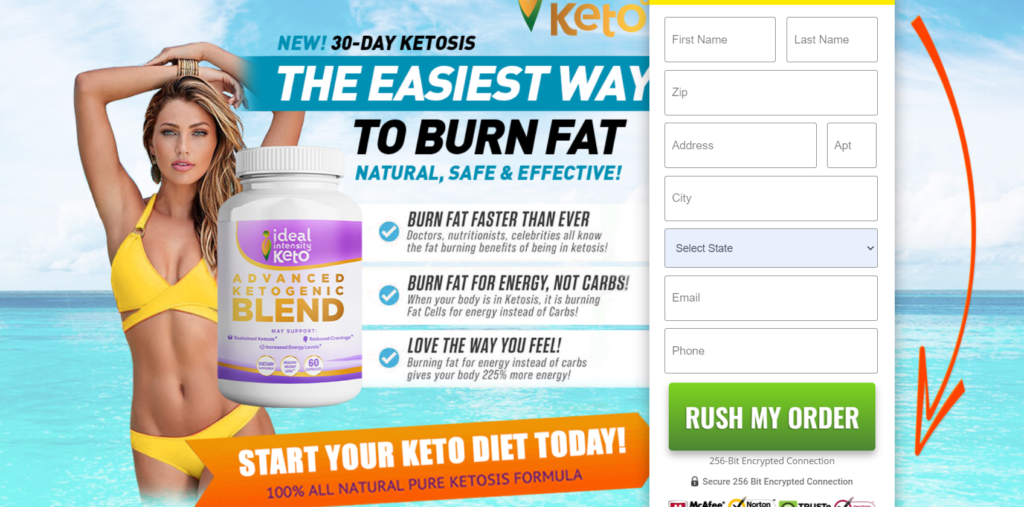 Ideal Intensity Keto ® *New 2020* What is Mistake! Reviews Pills