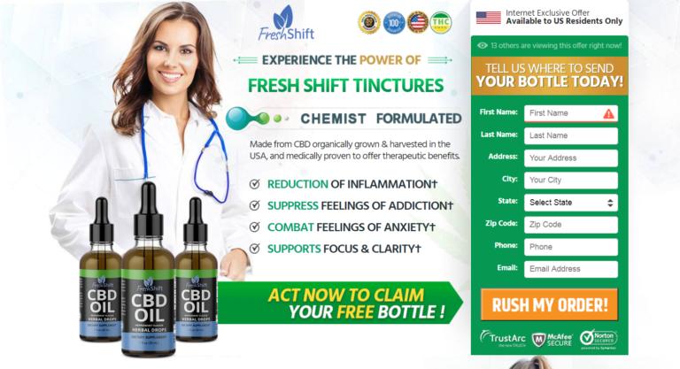 Fresh Shift CBD Reviews《Modify 2020》Price, Benefits, Ingredients?