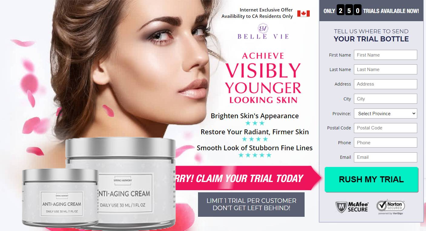 Spring Harmony Face Cream - Achieve Visibly Younger Looking Skin!