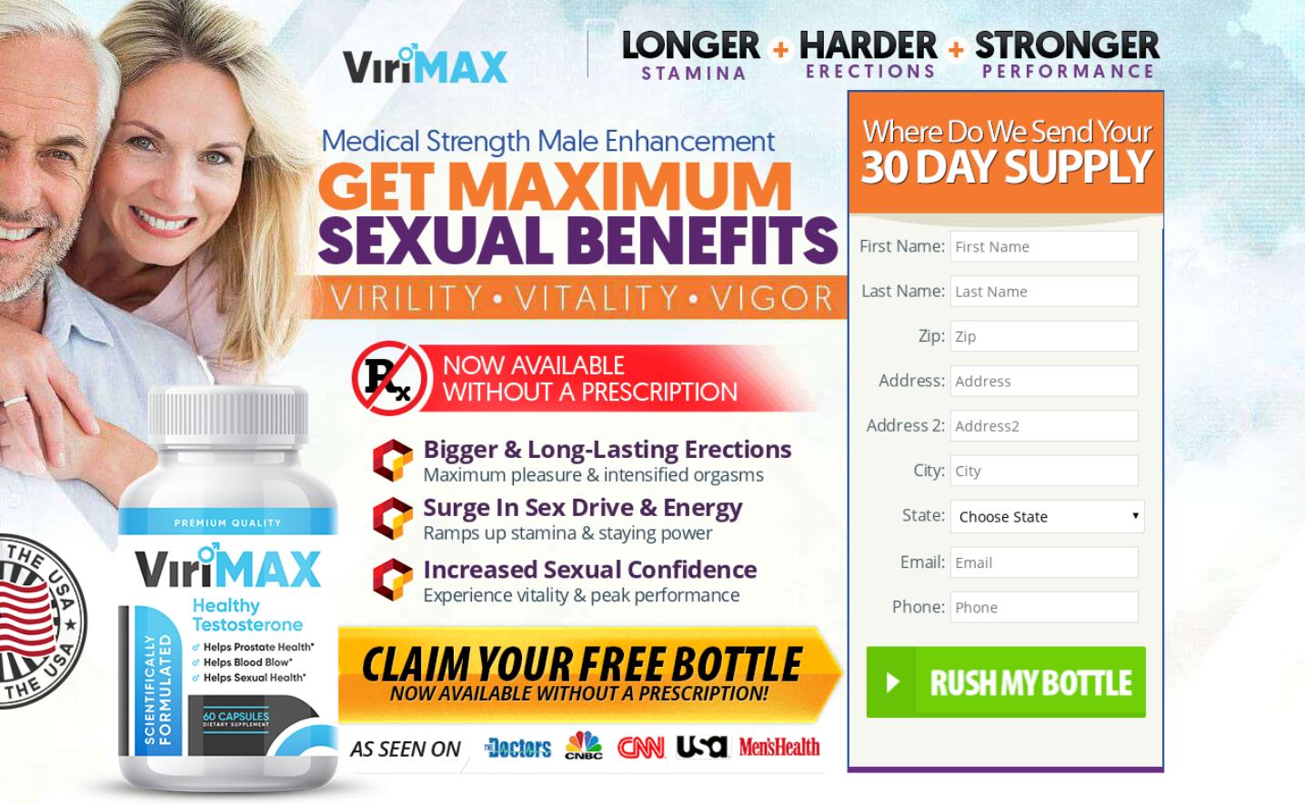 ViriMax Pills® | ViriMax Male Enhancement【Latest 2020】Scam or Legit?