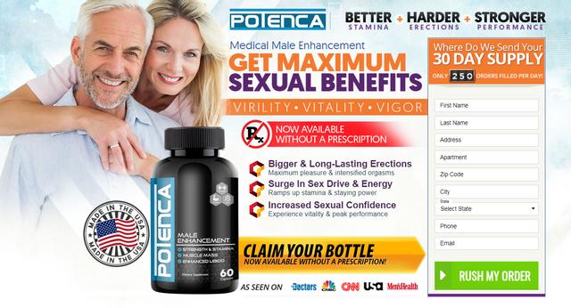 Potenca Male Enhancement *ACTIVE 2020* 5 Question Potenca Pills?