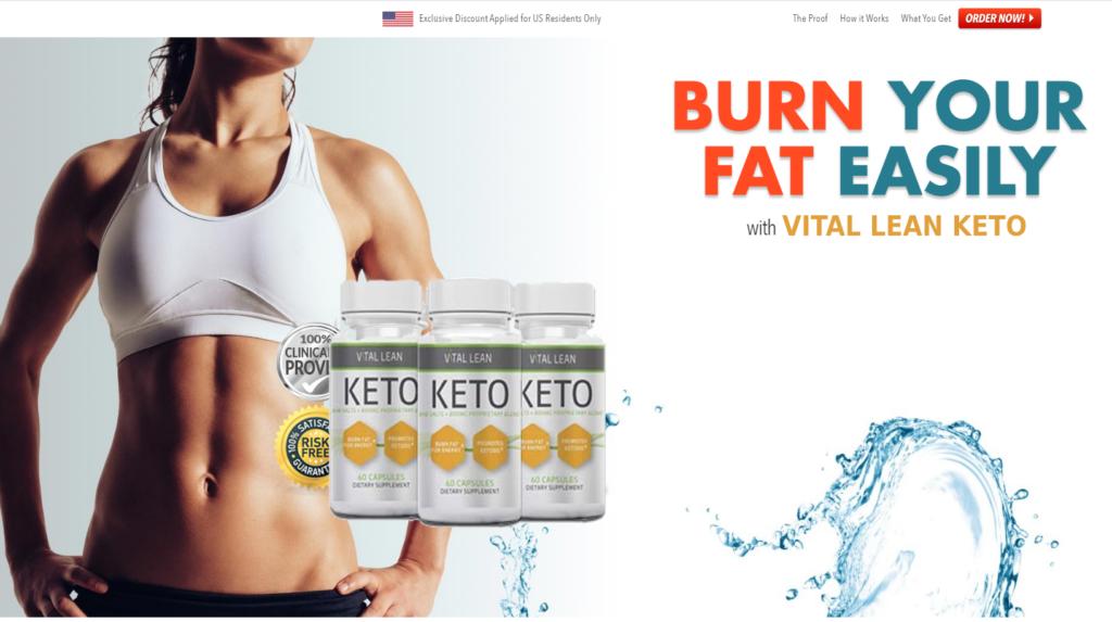 Vital Lean Keto ® {100% Legit Pills} Scam, Price, Ingredients, Reviews?