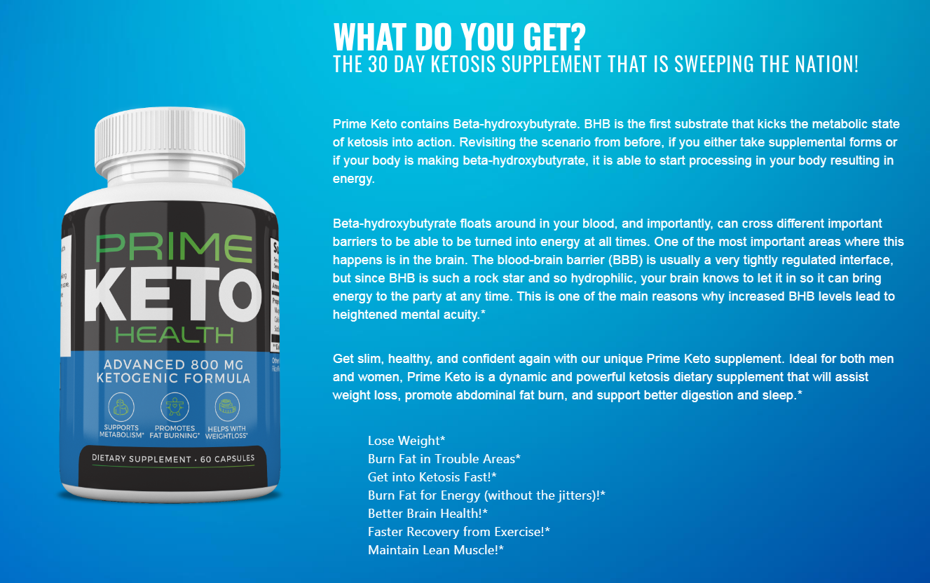 Prime Keto Health Pills® ☽UPDATE 2020☾ World #1 Ketogenic Formula!