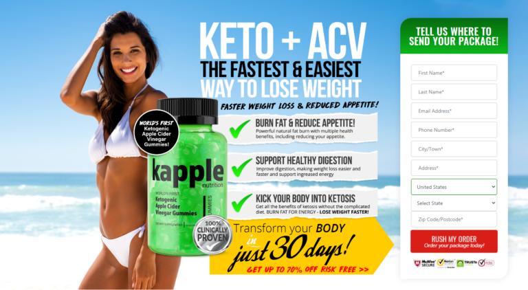 Kapple Nutrition Keto® (UPDATE 2020) Kick Your Body Into Ketosis!