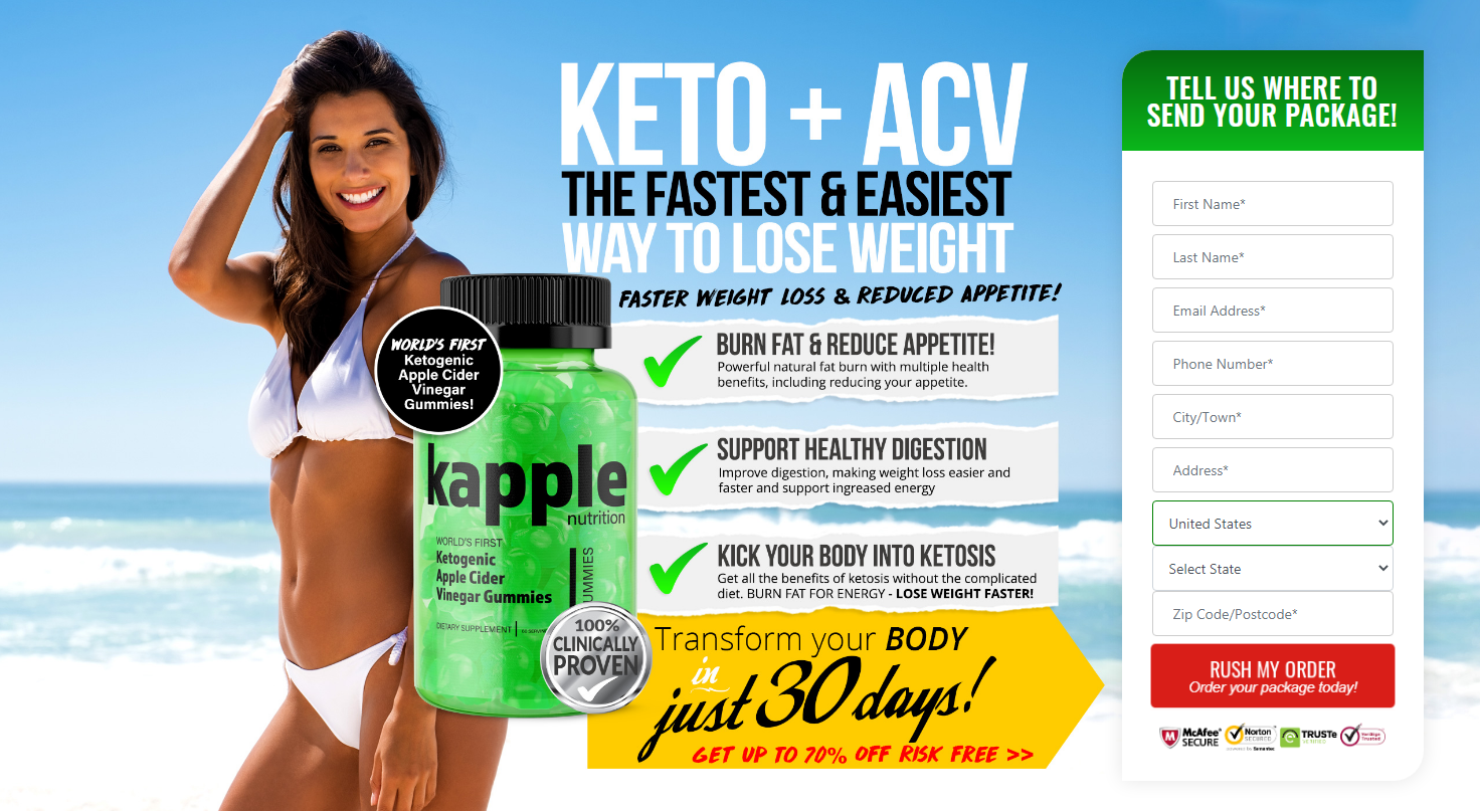 Kapple Nutrition Keto® (UPDATE 2020) Kick Your Body Into Ketosis!