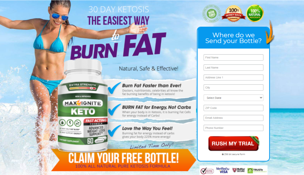 Max Ignite Keto | Powerful Ketosis Dietary Supplement That Will Assist!