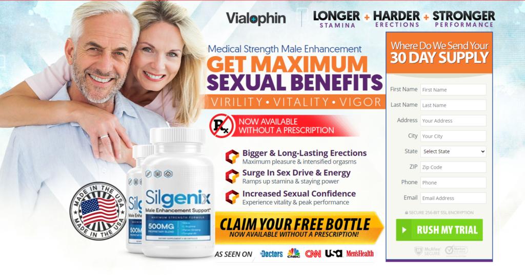 Silgenix Male Enhancement [Silgenix 500MG] Increase Sexual Confidance!