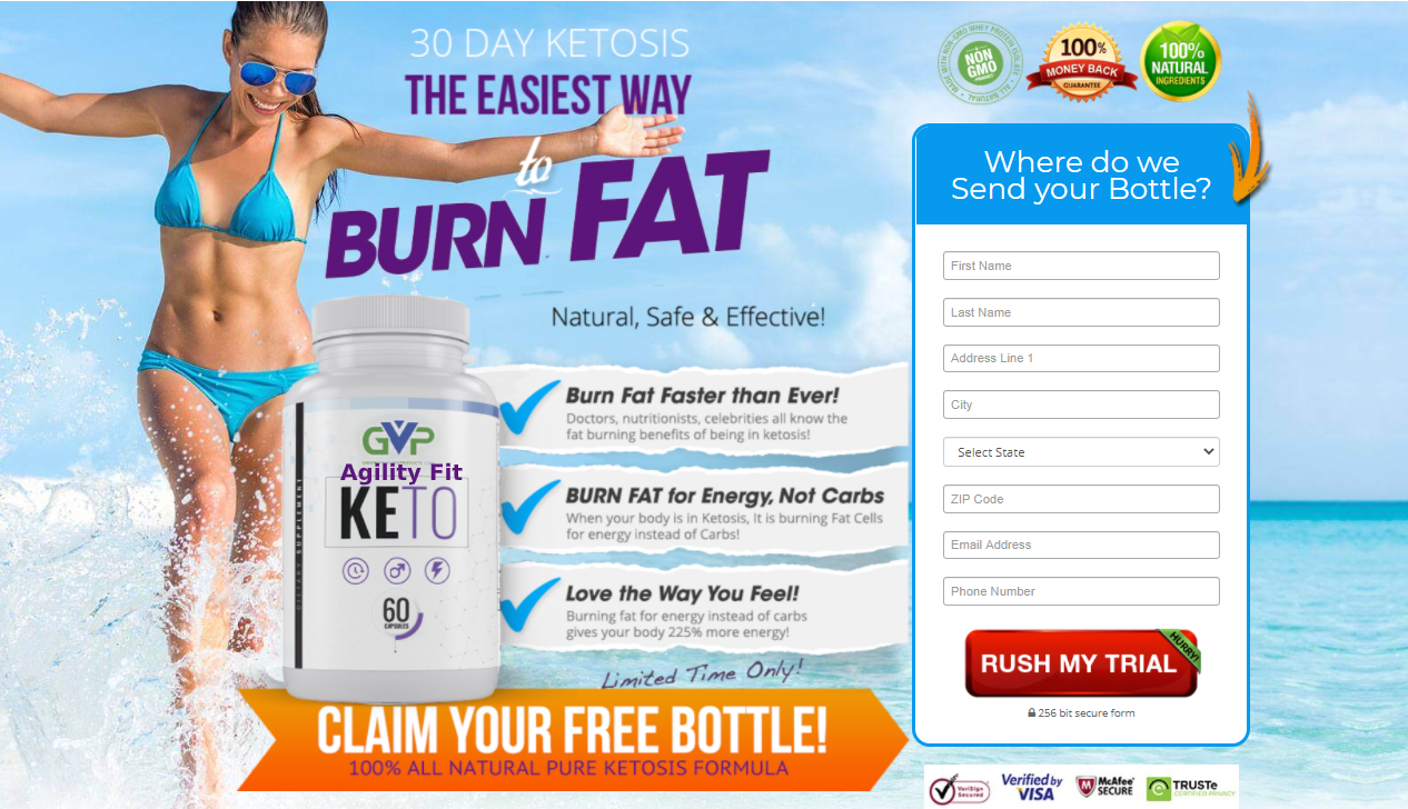 Agility Fit Keto® : Burning Fat For Energy Instead of Carbs Give Your Body