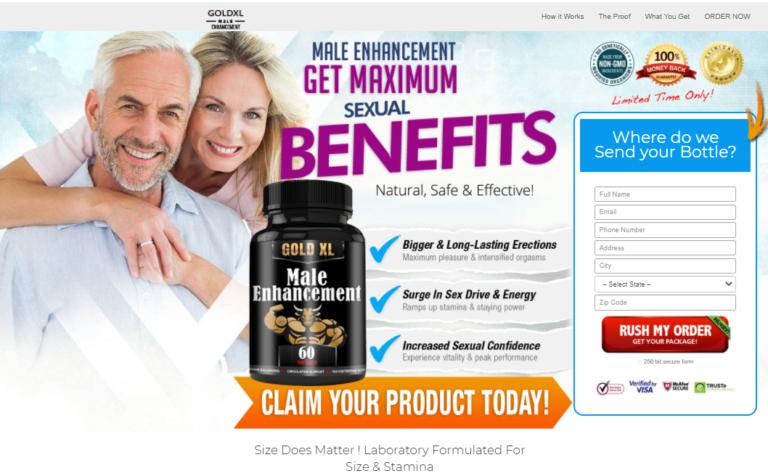 Gold XL Male Enhancement Pills® [100% Legit Gold XL Pills] Price, Scam?