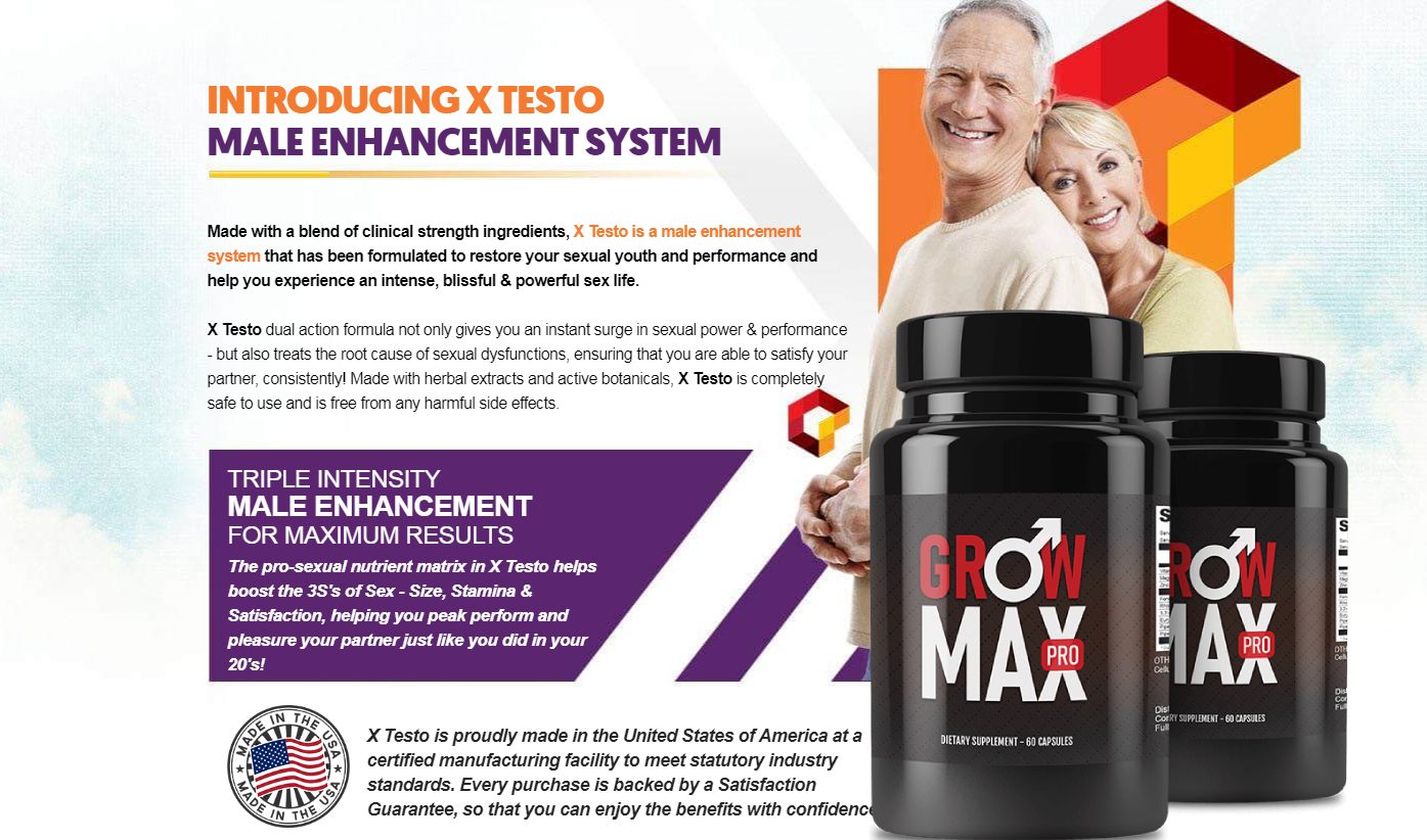 Grow Max Pro® *UPDATE 2021* Price, Scam, Ingredients, Reviews!
