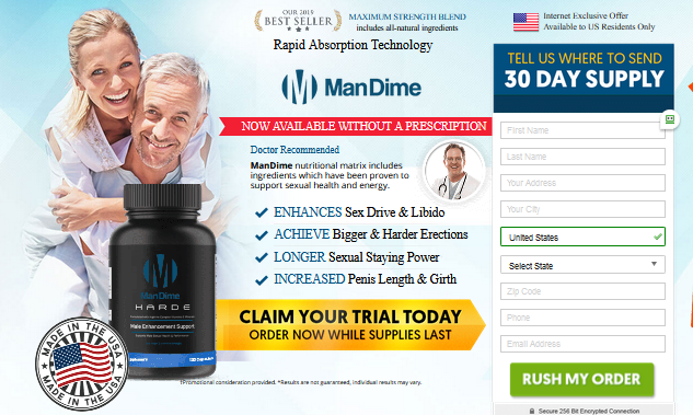ManDime Pills ® [ManDime Hard 100% Legit] Price, Scam, Reviews?