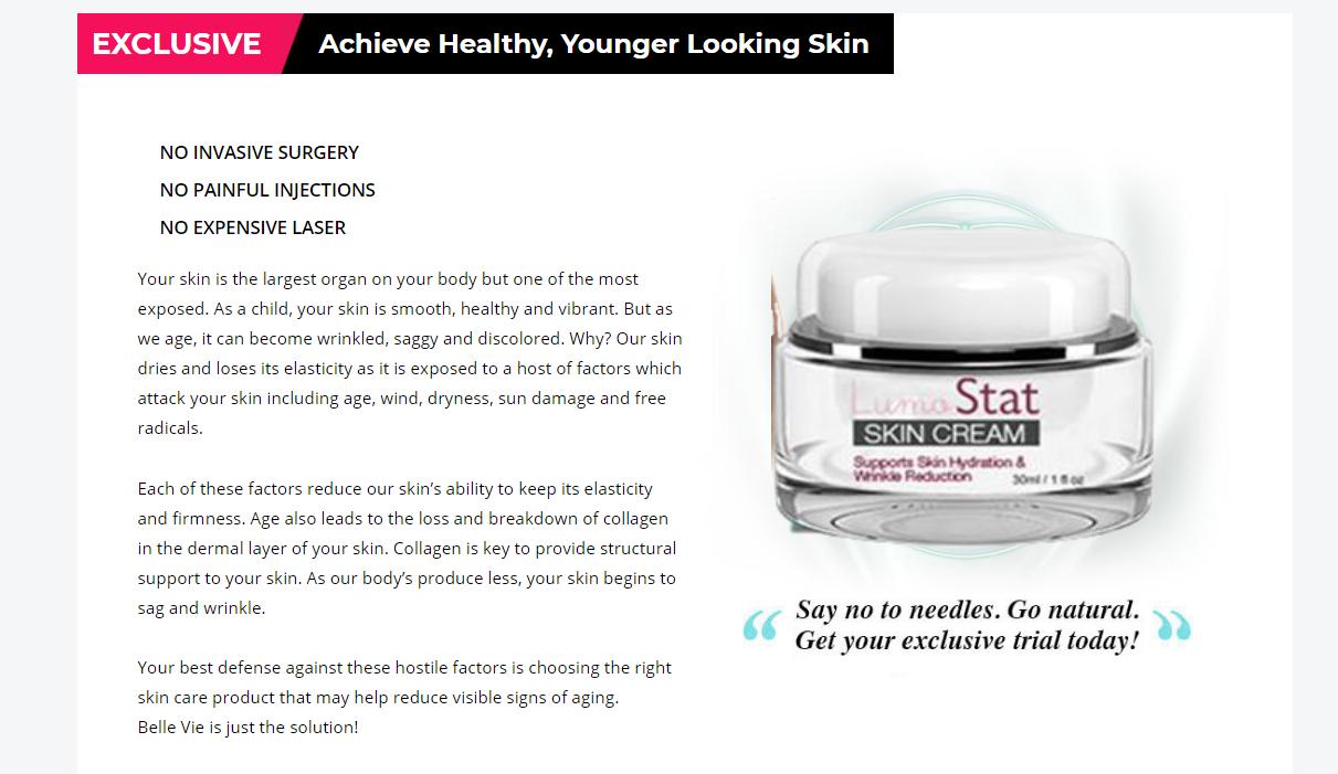 LumoStat Cream   Scam or Legit [UPGRADE 2021] Its Really Works?
