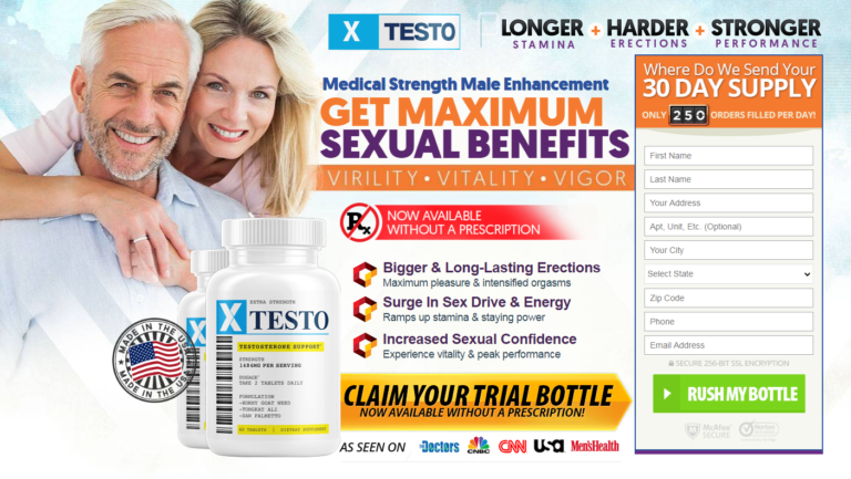"""XTesto Pills® """"XTesto Male Enhancement"""" 8 Mind Numbing Facts About!"""