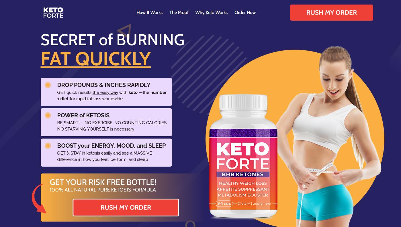 Keto Forte BHB® - 100% Legit Formula {Modify 2021} Scam or Legit?