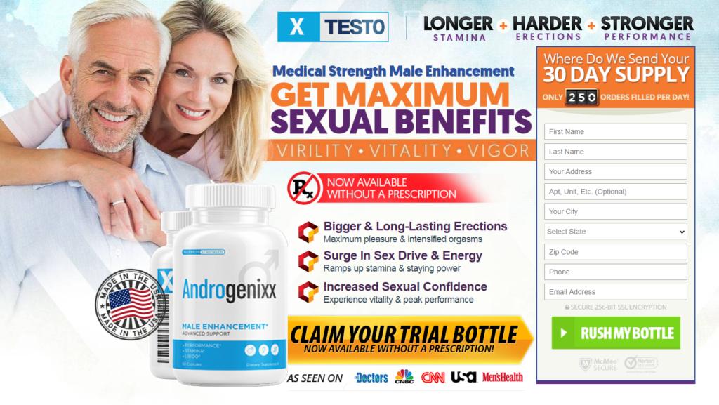 "AndroGenixx® ""100% Legit AndroGenixx Formula"" Price, Scam, Reviews?"