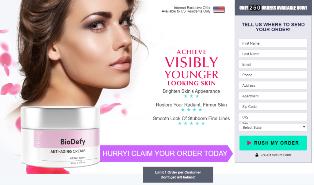 BioDefy Skincare Cream [Upgrade 2021] Price, Ingredients, Reviews?