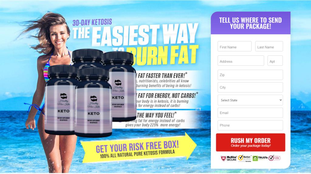 "Healthy Max Keto Pills® [Modify 2021] ""Pros & Cons"" Where to Buy?"