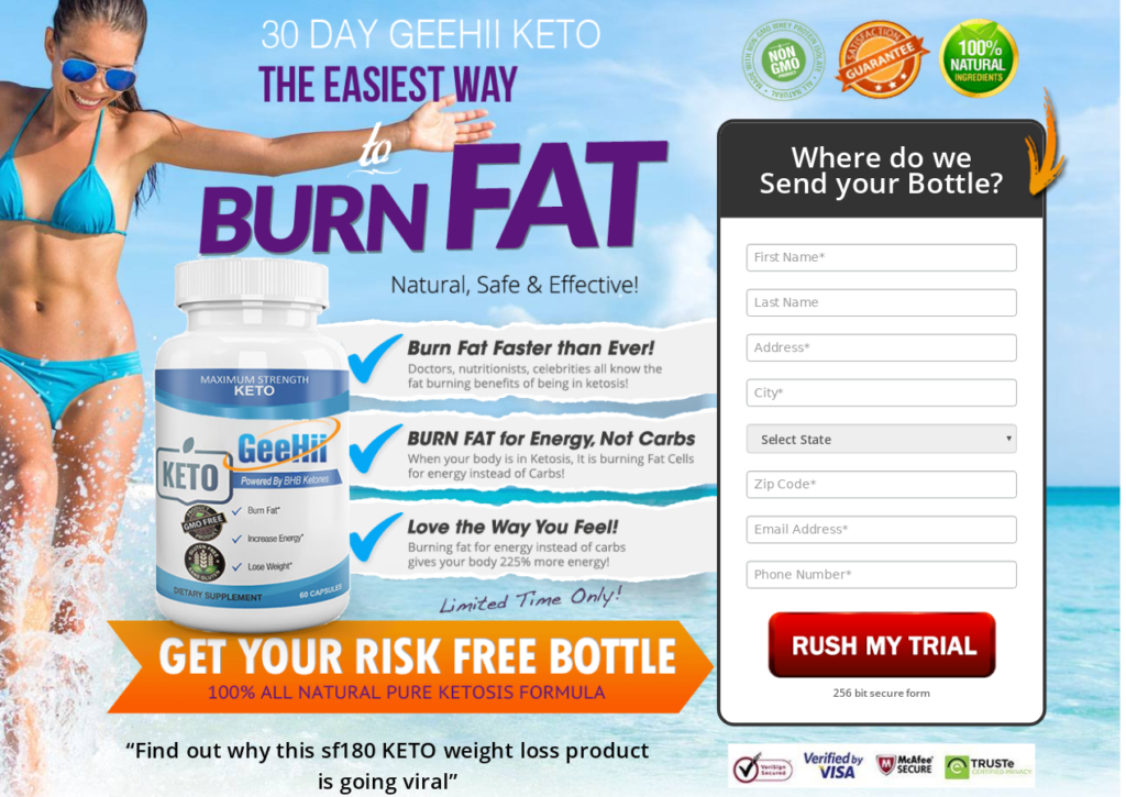 GeeHii Keto Diet® | Shark Tank [Scam or Hoax] Does Its Really Works?