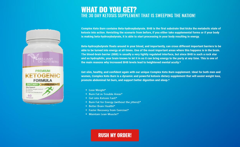 "Brilliant Catalyst Keto® ""UPDATE 2021"" Benefits Price, Scam, Ingredients?"