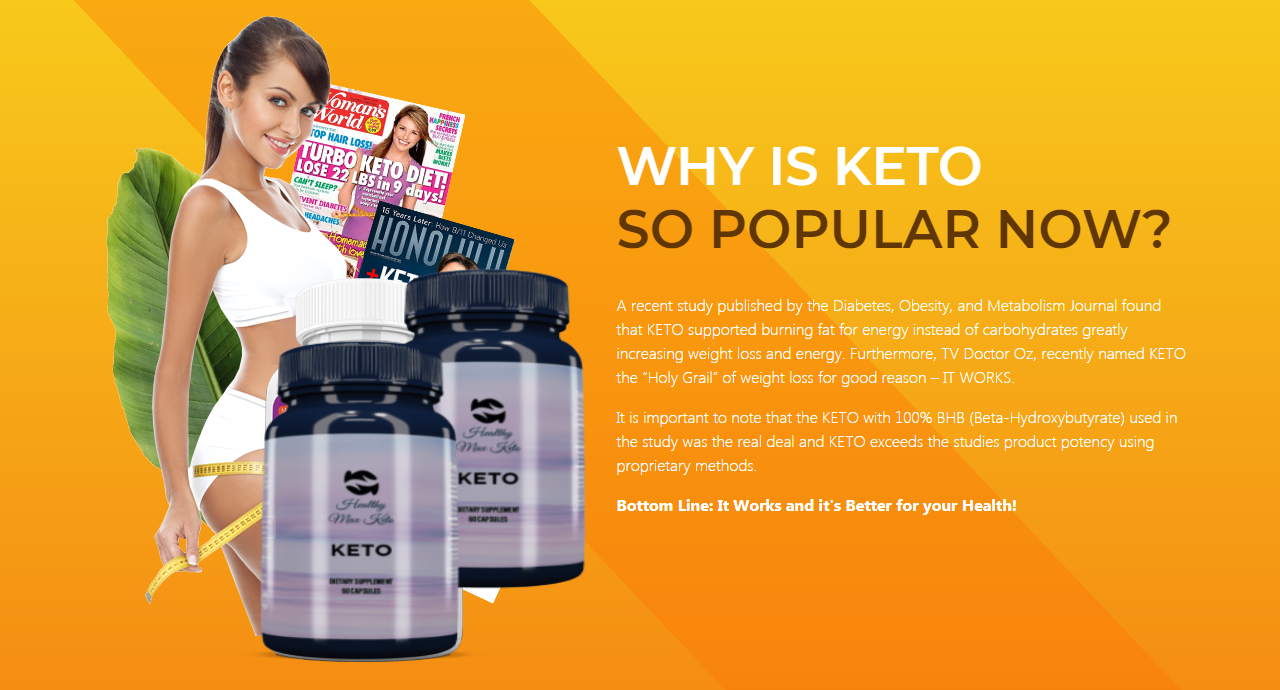 "Healthy Max Keto Pills® [Modify 2021] ""Pros & Cons"" Where to Buy?"