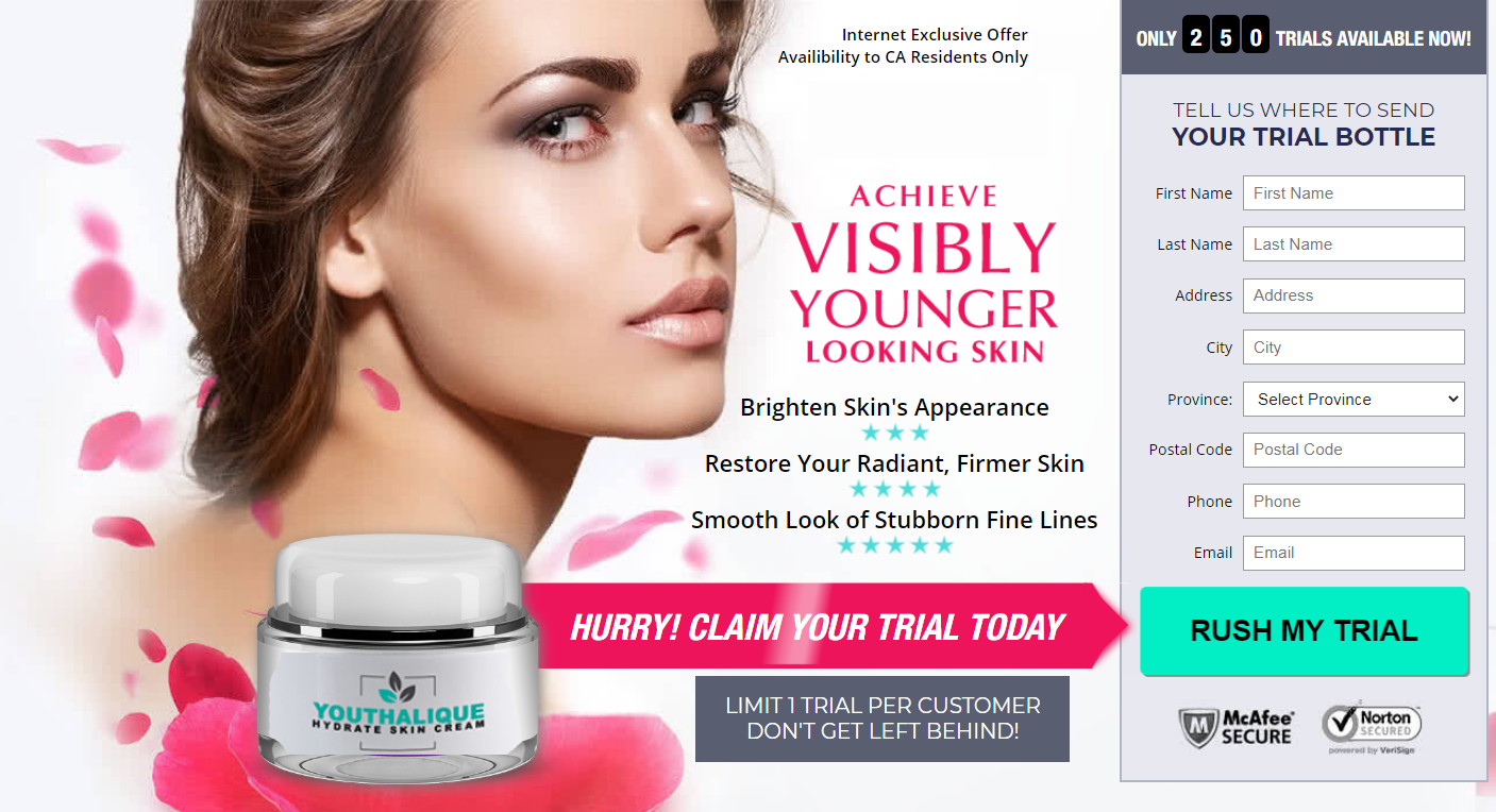 Youthalique Cream Reviews® [Upgrade 2021] Does Its Scam or Hoax?