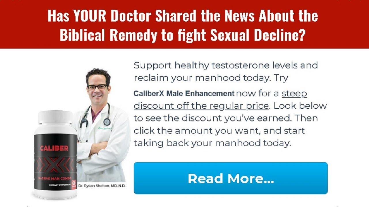 CaliberX Male Enhancement® (Upgrade 2021) Does Its Really Works?